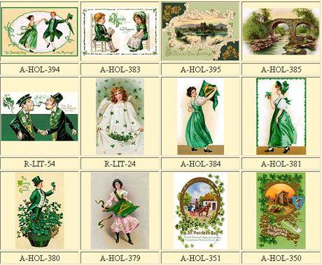 Vintage St Patrick's Day clipart