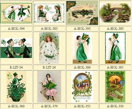 Vintage St Patrick's Day clipart