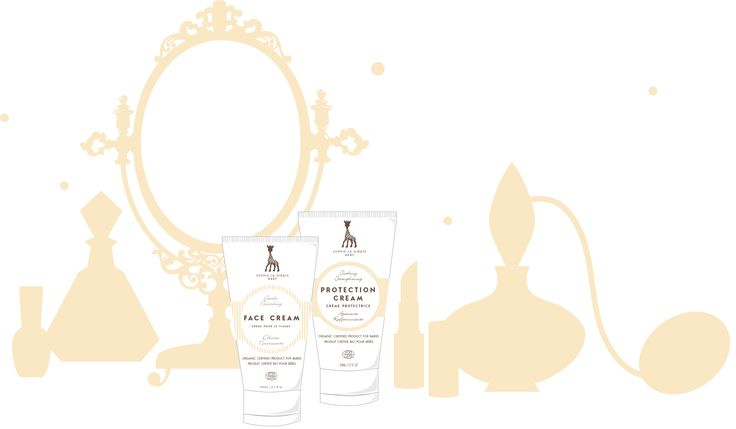 Moms really steal their babies skincare. Finally a skincare range developed for babies, that has so beautiful formulas even moms use them.   sophielagirafecosmetics.com