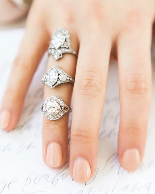 Unique Vintage Engagement Rings come in all shapes, styles, and size from old European cut diamonds, to pear and marquise diamonds! Shop these beauties from Victor Barboné Jewelry!