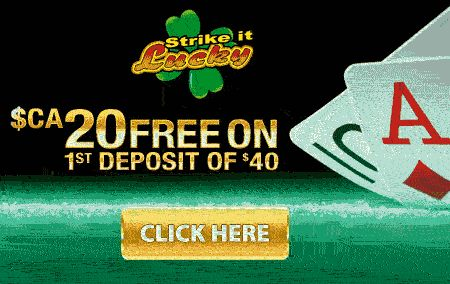 Strike It Lucky Casino free deposit bonus