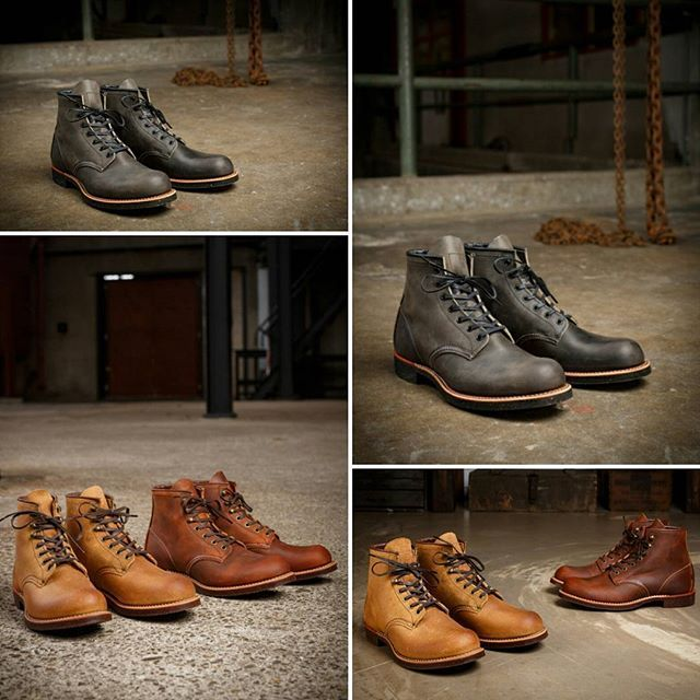 Red Wing Heritage Collection  Men's 6 Inch Classic Round Toe Blacksmith Boots  #mensfashion #fashion #design #highquality #leather #shoes #menstyle #instafashion #mystyle
