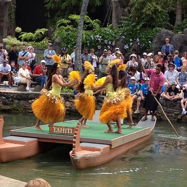 Visit Oahu's North Shore and spend a day exploring the Polynesian Cultural Center, kind of like Disney's EPCOT, in the sense that every culture from Samoa, Tahiti, Tonga, Fiji, Hawaii, and several other islands showcases their cultural dances, food, music, and other traditions