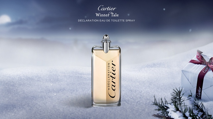 """""""DÉCLARATION EAU DE TOILETTE - by Cartier  SPRAY  A fragrance of truth, to say the things that count...A fragrance for a man who knows what he wants, and knows what he feels. An unforgettable fragrance of emotions."""""""