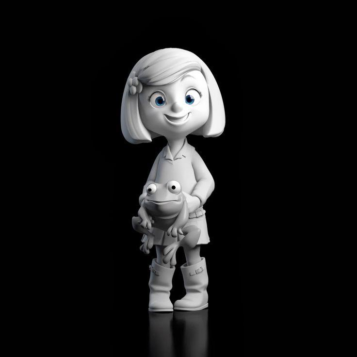 "Juan Solis: character designs and models for the short film ""Cuerdas"" (http://cuerdasshort.com/)"