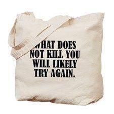 TRY AGAIN Tote Bag