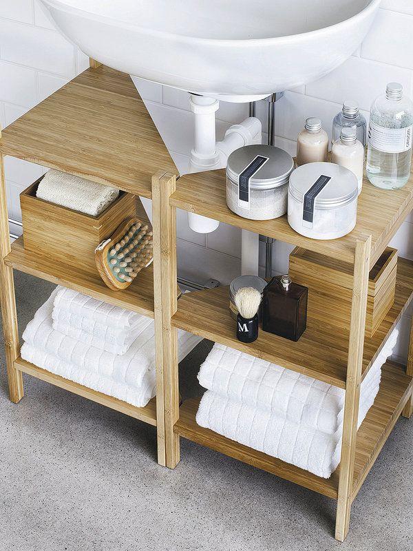 Muebles de lavabo (y lavabos) con zona de almacén