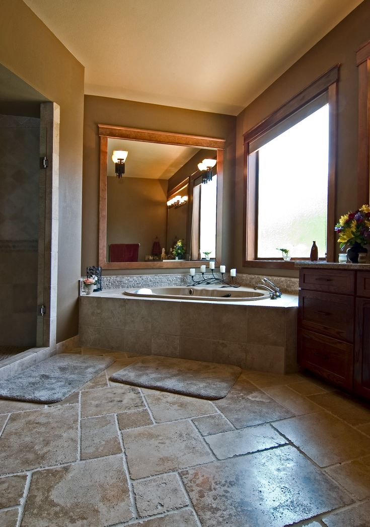 1000 Images About Master Bathtub Tile Surround Ideas On Pinterest Wood Trim Corner Tub And