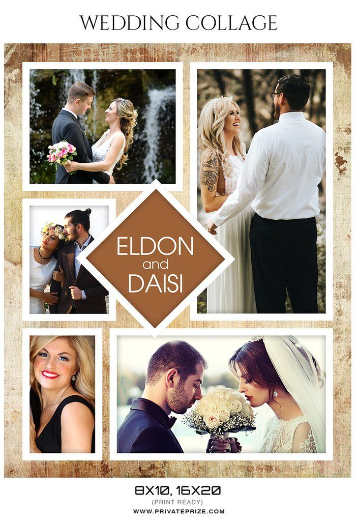 eldon and daisi wedding collage in 2018 wedding collages set