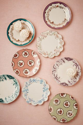 Petits Four Plates (8) from BHLDN