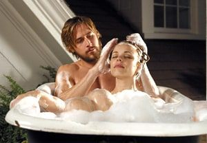 Ryan Gosling made women around the country swoon when he romanced Rachel McAdams in this 2004 flick based on the popular Nicholas Sparks novel about a couple who fall in love in the 1940s.