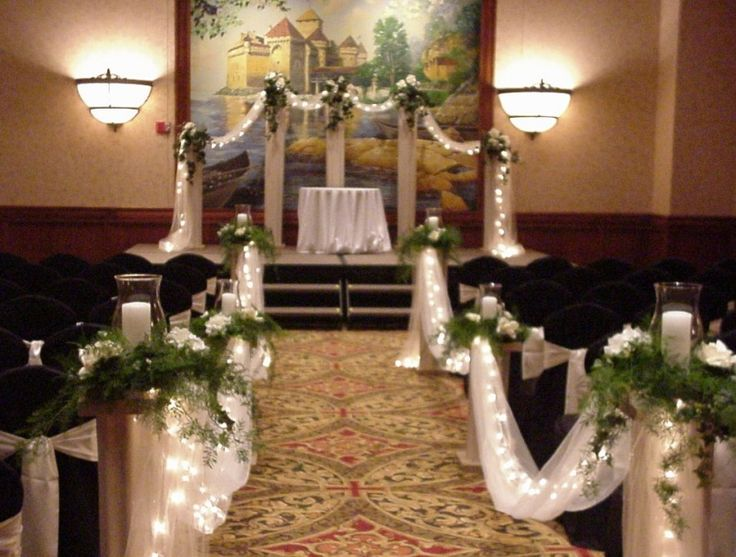 102 best church decorations images on pinterest flower church wedding decorations are simply beautiful shannons custom florals brings more beauty to church weddings the wood of the pews the aisle junglespirit Image collections