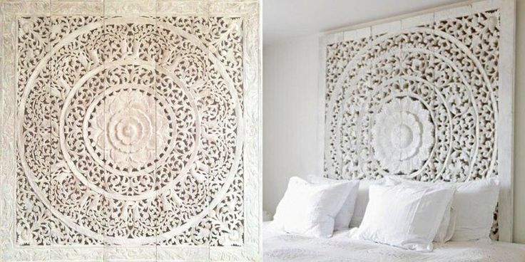 A dream bed...about to come true. Persian nights....