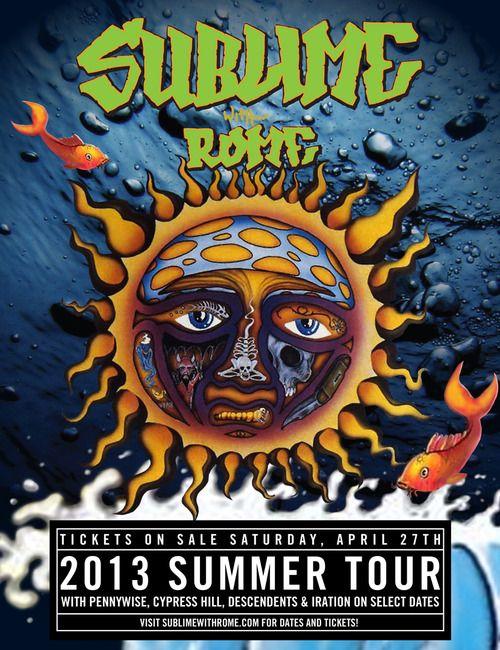 SUBLIME WITH ROME ANNOUNCES SUMMER TOUR