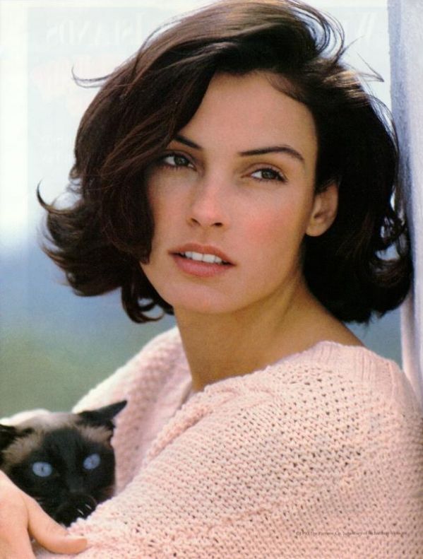 Famke Janssen ... Brought to you in part by StoneArtUSA.com ~ affordable custom pet memorials since 2001