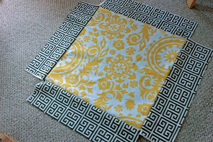 Mandy Made: Giant Floor Pillows