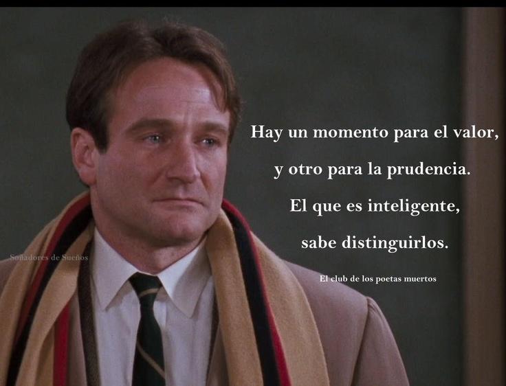 Robin Williams en La Sociedad de los Poetas Muertos