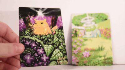 Artist Turns Pokemon Cards Into Masterpiece