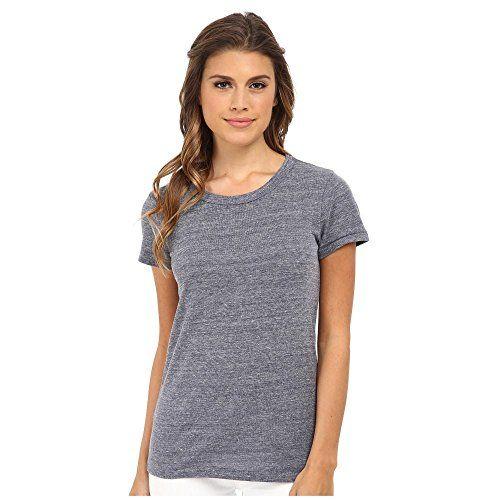 (オルタナティヴ) Alternative レディース トップス Tシャツ Ideal Tee 並行輸入品  新品【取り寄せ商品のため、お届けまでに2週間前後かかります。】 表示サイズ表はすべて【参考サイズ】です。ご不明点はお問合せ下さい。 カラー:Eco Navy