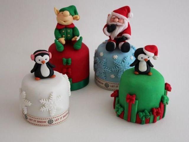 Y para la gran final, pastelitos de Navidad!