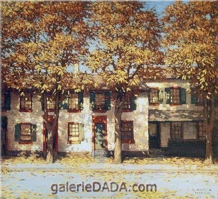 Lawren Harris,  Houses Richmond Street Fine Art Reproduction Oil Painting