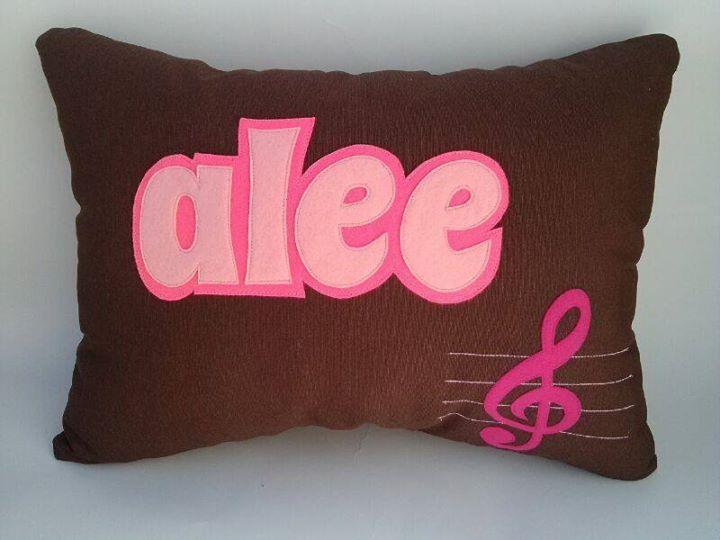 Almohada personalizada