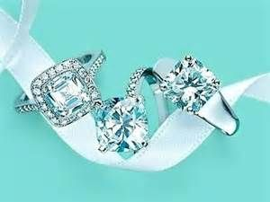A wise woman once told me, on your fingers diamonds can never