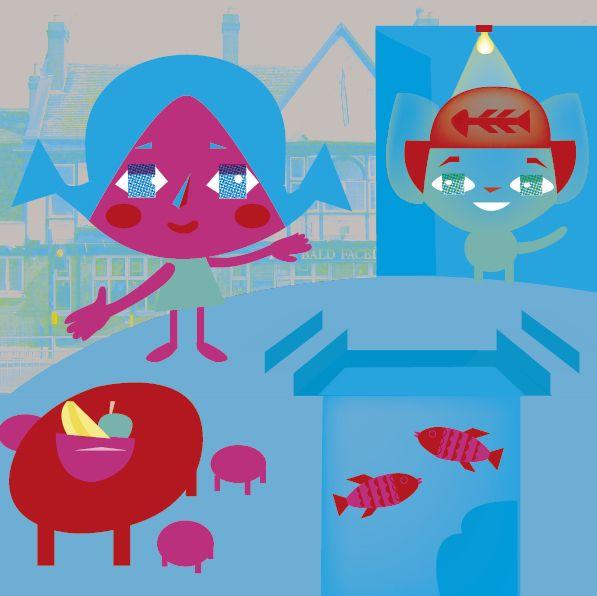Ilustración illustration 일러스트레이션  El Fresco Restaurante