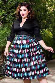 Image result for Jenny Skirt in Red Border Print Floral