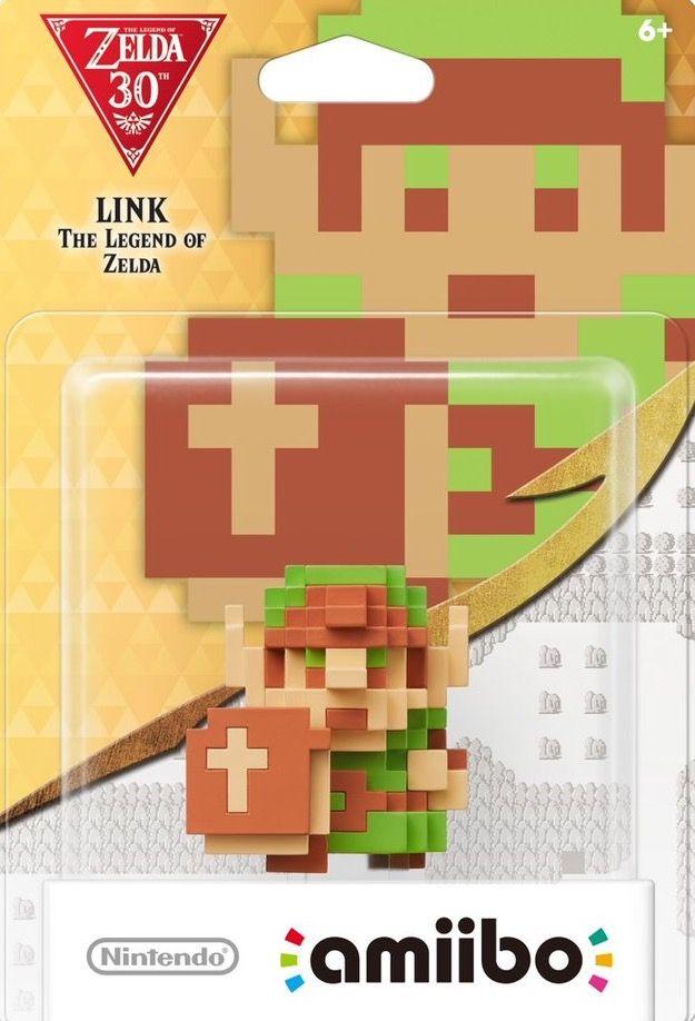 8-Bit Link - Legend of Zelda 30th Anniversary Series