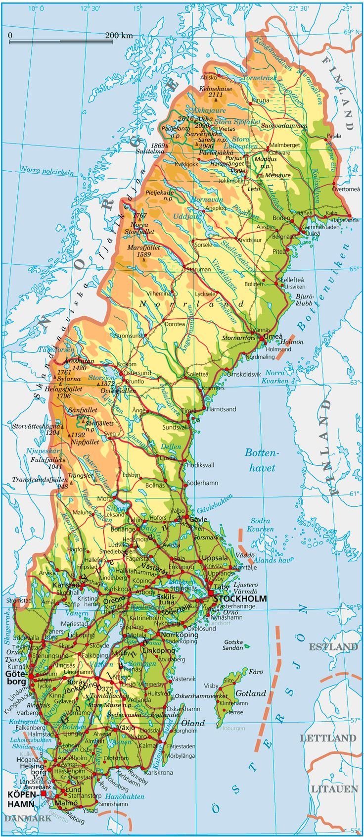 In the 1700 Peter began a long war with Sweden and dominated the Baltic region.