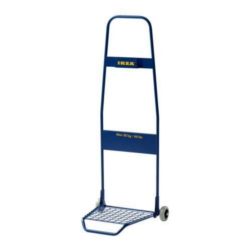 FRAKTA Chariot IKEA Idéal pour transporter vos achats, ou pour déplacer des objets lourds chez vous. Facile à replier et à ranger.