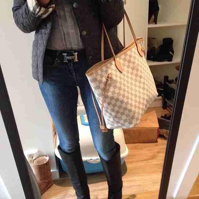 Louis Vuitton Damier Neverfull Louis Vuitton Handbags #lv bags#louis vuitton#bags