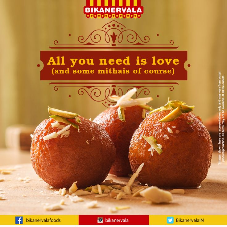 Give yourself a sugary treat with #Bikanervala's wide range of divine Indian mithais.