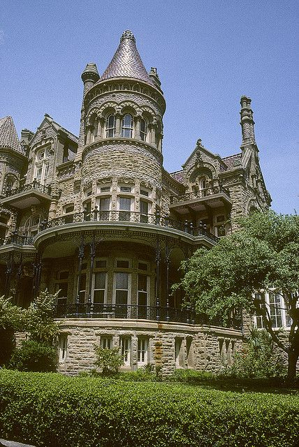 Sure looks like a castle!!! :). Bishop's Palace, Galveston Texas