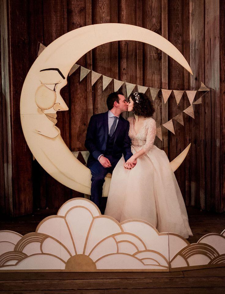 half moon photobooth backdrop