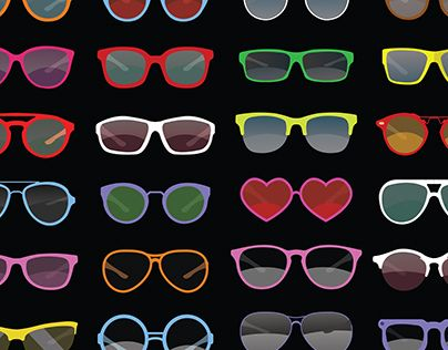 """Check out new work on my @Behance portfolio: """"Sunglasses collection"""" http://be.net/gallery/52885583/Sunglasses-collection"""