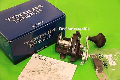 New Shimano Torium 16HGLH TOR16HGAL Left-Handed Fishing Reel FREE 1-3 DAYS Del