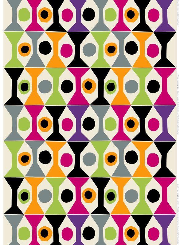 Coctail fabric / Design by Jenni Tuominen for Marimekko / Marimekko S/S 14