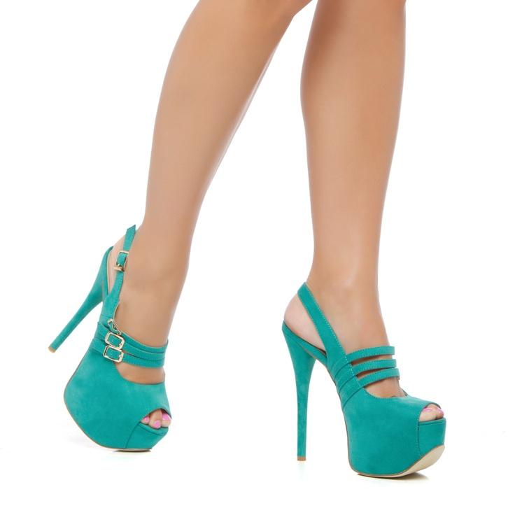 <3Colors Please, Hot Shoes, Aqua Blue, Hello Shoes, Tiffany Blue, Colors So, Teal Heels, Creative Shoes, 3 Beautiful