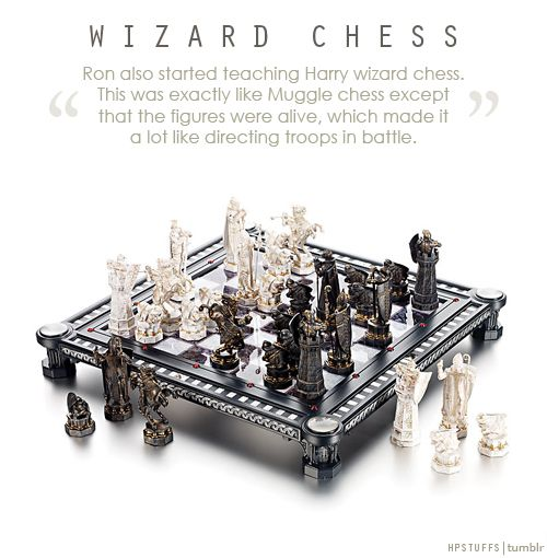 how to play wizard chess