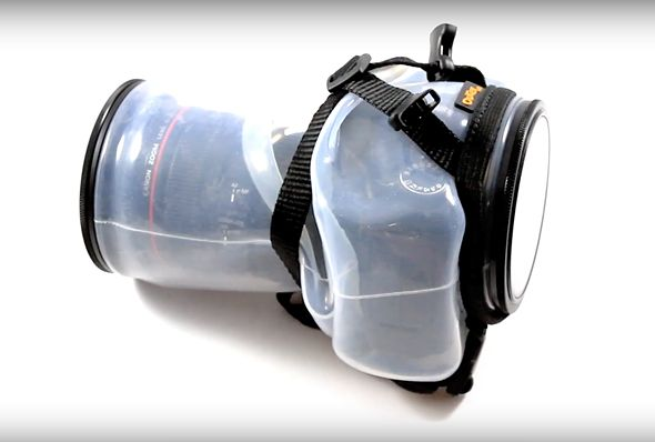 Outex launches clear universal underwater camera housing