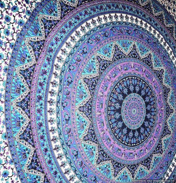 Grande Mandala indiano Tapestry Hippy Hippy parete di MERCATO CRAFT INDIA su DaWanda.com