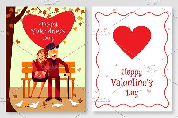 Valentine's Greeting Card @Graphicsauthor
