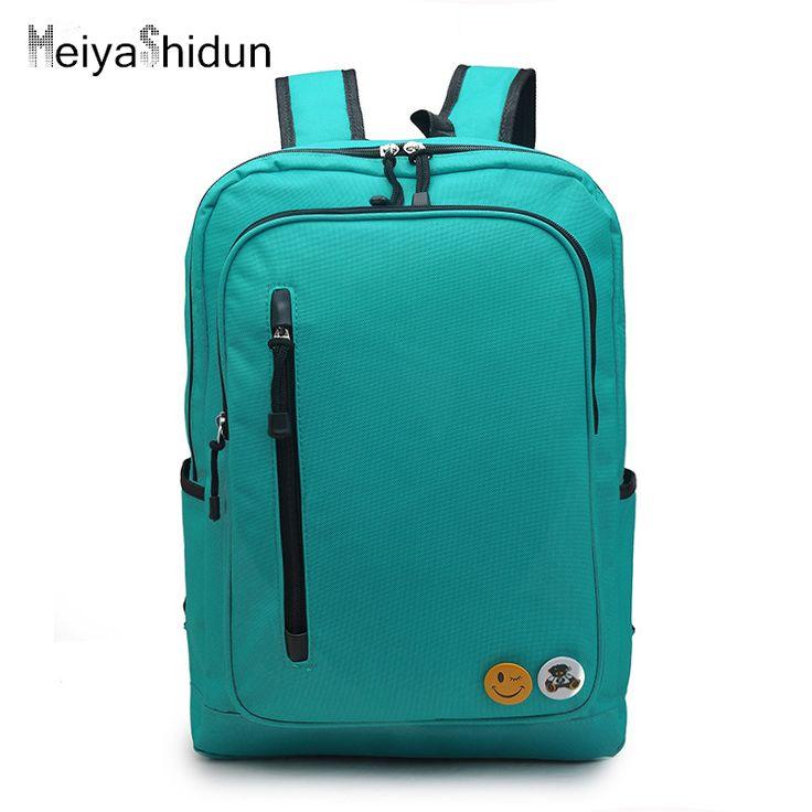 $38.25 (Buy here: https://alitems.com/g/1e8d114494ebda23ff8b16525dc3e8/?i=5&ulp=https%3A%2F%2Fwww.aliexpress.com%2Fitem%2FNew-Arrival-Designed-Men-s-Backpacks-Bolsa-Mochila-for-Laptop-Notebook-Bags-Travel-Business-Rucksack-College%2F32699072376.html ) MeiyaShidun college Women Backpacks For Teenage Girls Youth Trend School bags Student emoji Nylon Waterproof Laptop Backpack Men for just $38.25