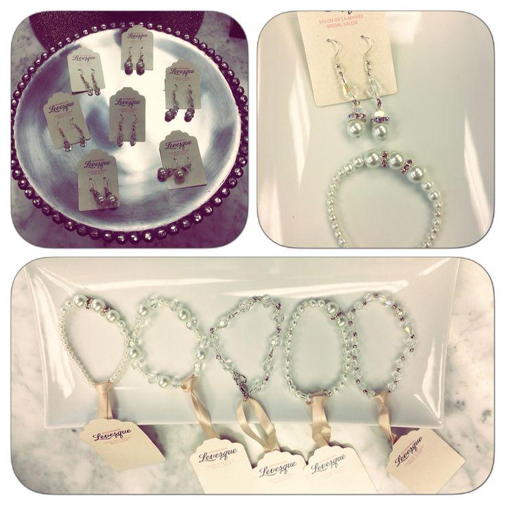 #handmade #jewelry #ottawa #dominiquebridal #bridal #bling