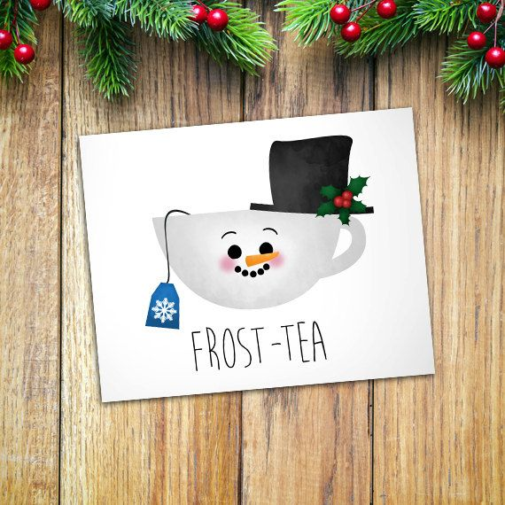 Frost-tea Digital 8x10 Printable Poster Funny by ALittleLeafy