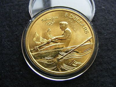 2000 australia 5 dollars #sydney #olympic #'rowing' aunc,  View more on the LINK: 	http://www.zeppy.io/product/gb/2/391521297100/