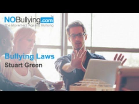 Stuart Green on Bullying Laws http://nobullying.com/stuart-green-on-bullying-laws/ #bullying, #bullyinglaws, #education, #schoolbullying, #schoolbullyinglaws, #bullyingawareness, #hazing, #cyberbullying, #parents, #teachers