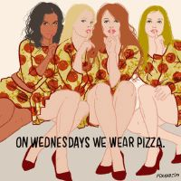 mean girls pizza GIF by Animation Domination High-Def